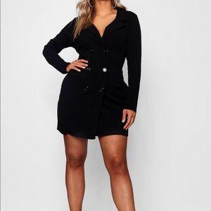 Dresses & Skirts - Scuba Blazer Dress